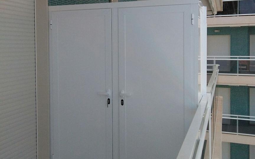 Armarios aluminio para terrazas best armario de exterior for Armarios para terrazas